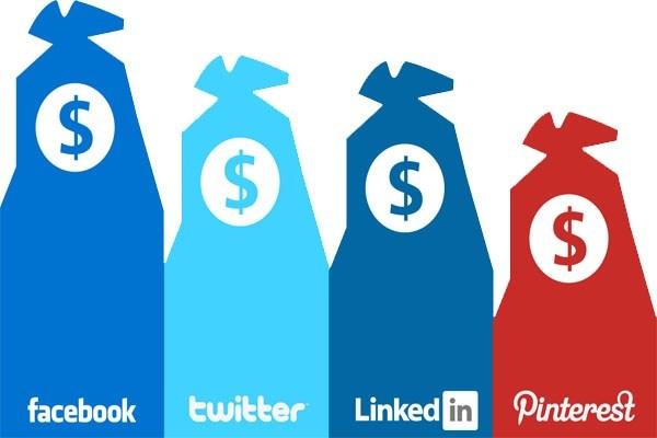 Tjäna pengar sociala medier